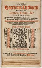 Nieu dubbelt Haerlems lietboeck, ghenaemt den laurier-krans, der amoureusen (1643)