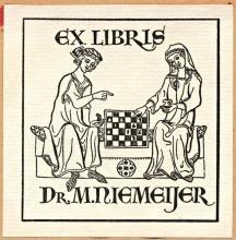 Ex-libris M. Niemeijer