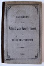 Beschrijving van den atlas van Amsterdam van Louis Splitgerber (1874)