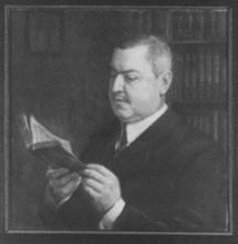 N.G. van Huffel: portret door J.C.U. Legner