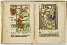 Liden ende passie Ons Heren (1486-1488) (Koninklijke Bibliotheek Den Haag, aanvraagnummer: KW 171 G 103)