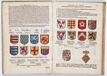 Jean Scohier, La genealogie et descente de la très illustre maison De Cory (1589) [Foto: Koninklijke Bibliotheek Den Haag]