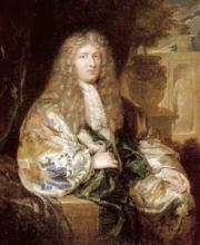 Caspar Netscher, Portret van Gisbert Cuper