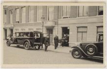 Begrafenis vanuit Van Speykstraat 10, Den Haag, 1933