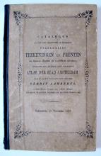 Verkoopcatalogus van de verzameling van Gerrit Lamberts (1850)