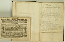 Handschrift van H. Tollens' 'Nova Zembla', met 'Waerachtige beschrijvinghe' door De Veer (Koninklijke Bibliotheek Den Haag, aanvraagnummer: KW 76 D 6)