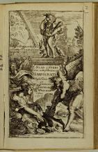 Titelgravure met de Egyptische godheid Harpocrates (Koninklijke Bibliotheek Den Haag: aanvraagnummer KW 185 M 15:2)