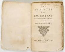 Les plaintes des protestans (1586)