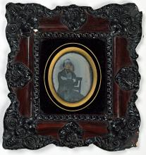 Daguerrotype van P.J.B.C. Robidé van der Aa (ca. 1855) (Koninklijke Bibliotheek Den Haag, aanvraagnummer: Meub.Inv. 49)